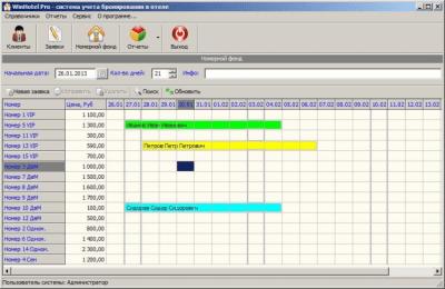 WinHotel Pro 2.0