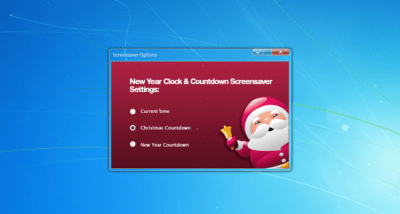 Christmas Clock & Countdown Screensaver 1.0