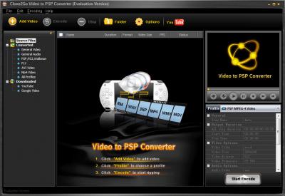 Clone2Go Video to PSP Converter 2.5.0
