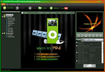 Clone2Go Video to MP4 Converter 2.5.0