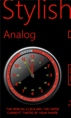 Stylish Clock 1.1.0.0