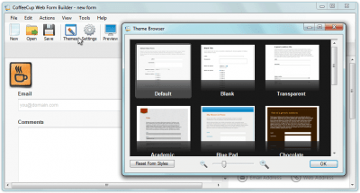 Web Form Builder 2.9
