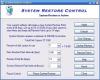Скачать System Restore Control
