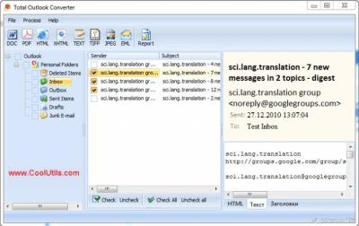 Total Outlook Converter 4.2