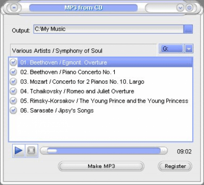 Copy Audio CD 1.2
