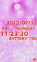 Скачать Cute clock battery Free