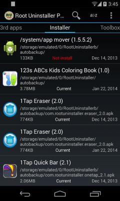 Root Uninstaller 8.4