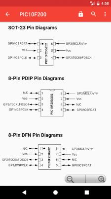 PICmicro Database 4.2
