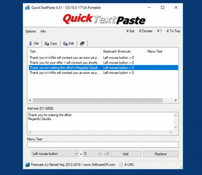 QuickTextPaste 4.44