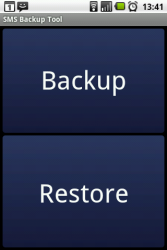 Sms Backup Android Trial 1.7.2