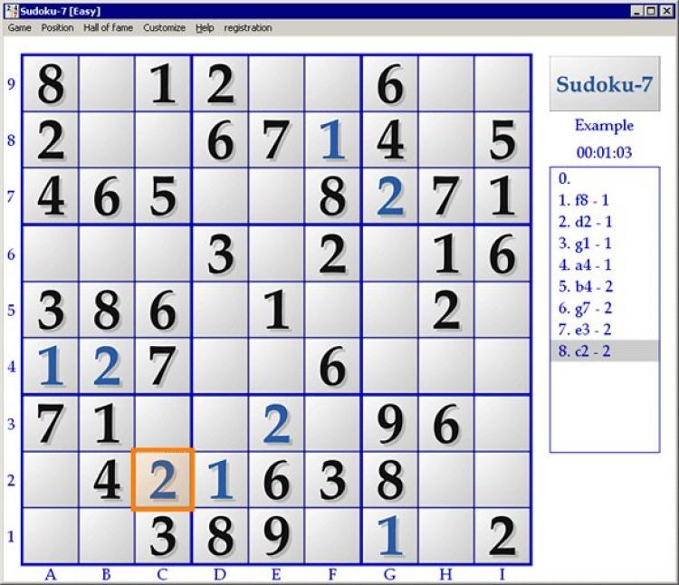Sudoku-7 скачать на Windows бесплатно