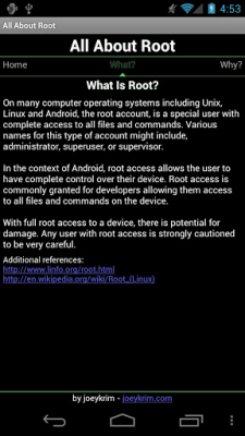 Root for Android - All About 1.3.5