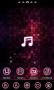 Скачать pinkmusic Theme GO Launcher EX