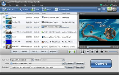 AnyMP4 Video Converter 7.2.18