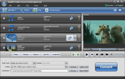 AnyMP4 Audio Converter 7.2.12.0