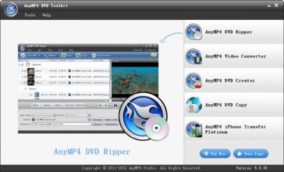 AnyMP4 DVD Toolkit 6.0.63