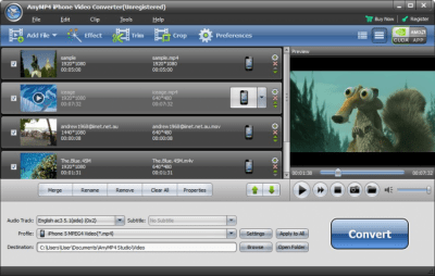 AnyMP4 iPhone Video Converter 6.2.36