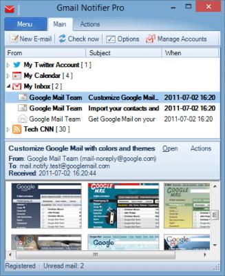 Gmail Notifier Pro 5.3