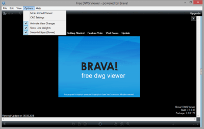 Free DWG Viewer 7.3