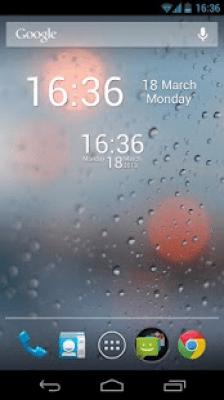 Простые цифровые часы 2.0.7