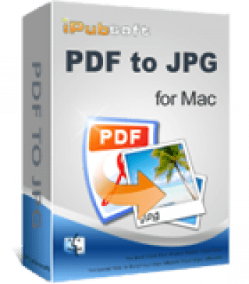 iPubsoft PDF to JPG Converter for Mac 2.1.2