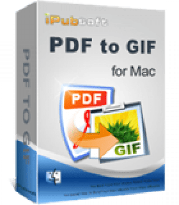 iPubsoft PDF to GIF Converter for Mac 2.1.2
