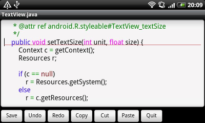 Jota Text Editor 0.2.38