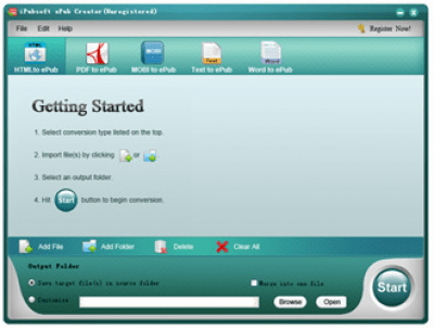 iPubsoft ePub Creator for Windows 2.1.22