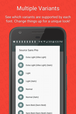 FontFix ― Install Free Fonts 4.4.4.0