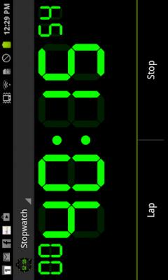 Цифровой таймер и секундомер 3.1