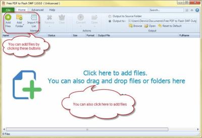 PDF to Flash SWF 2.1.0
