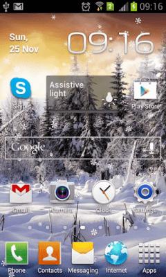 Живые Обои Зимний Лес Снежинки 1.0.1