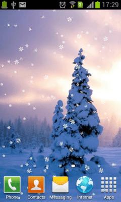 Падающие снежинки 1.0.1