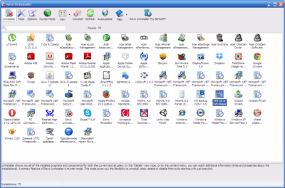 Revo Uninstaller Free 2.0.5