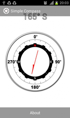 Простой компас 1.0.10