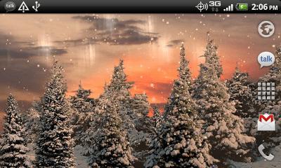 Snowfall Free Live Wallpaper 2.4