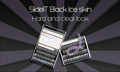 SlideIT Black Ice Skin 4.0