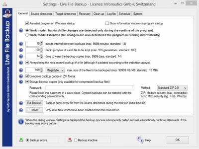 Live File Backup 2.41