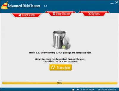 Advanced Disk Cleaner 6.3