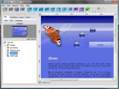 Antenna Web Design Studio 6.57