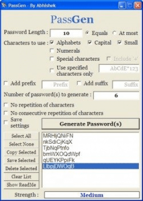 PassGen Portable 1.3.1