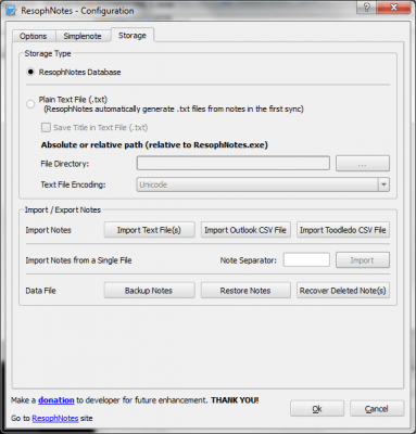 ResophNotes Portable 1.7.0