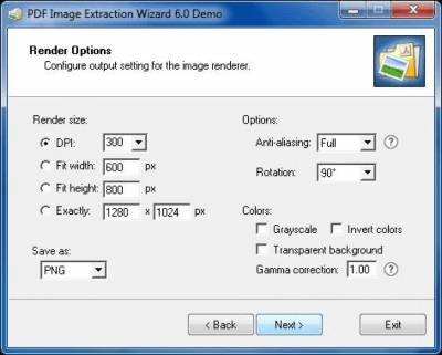 PDF Image Extraction Wizard Portable 6.11