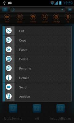 Filer - файловый менеджер 1.0