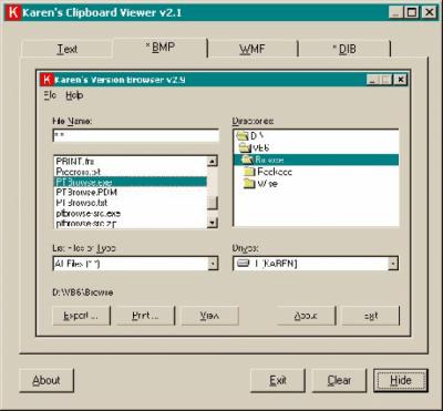 Clipboard Viewer 2.2
