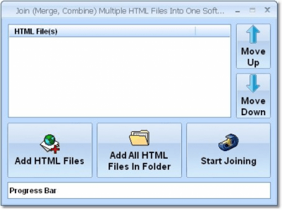 Join (Merge, Combine) Multiple HTML Files Into One 7.0