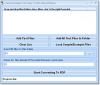 Скачать Convert Multiple CSV Files To PDF Files