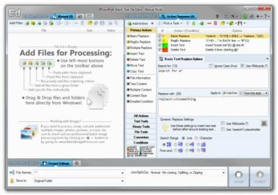 Batch Text File Editor 5.0.7