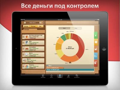 Мои Деньги с Money для iPad 6.6.12