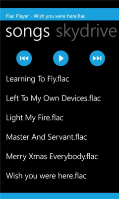Flac Player 1.3.0.0